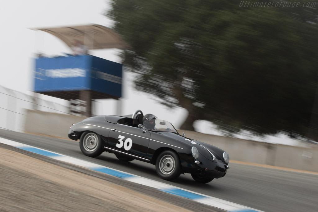 Porsche 356 Roadster G-1 - Chassis: 88612 - Driver: Dean Watts  - 2013 Monterey Motorsports Reunion