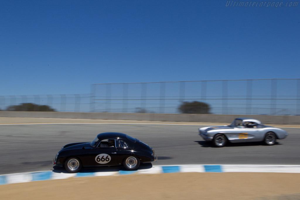 Porsche 356A - Chassis: 55740 - Driver: Edward Hugo  - 2013 Monterey Motorsports Reunion