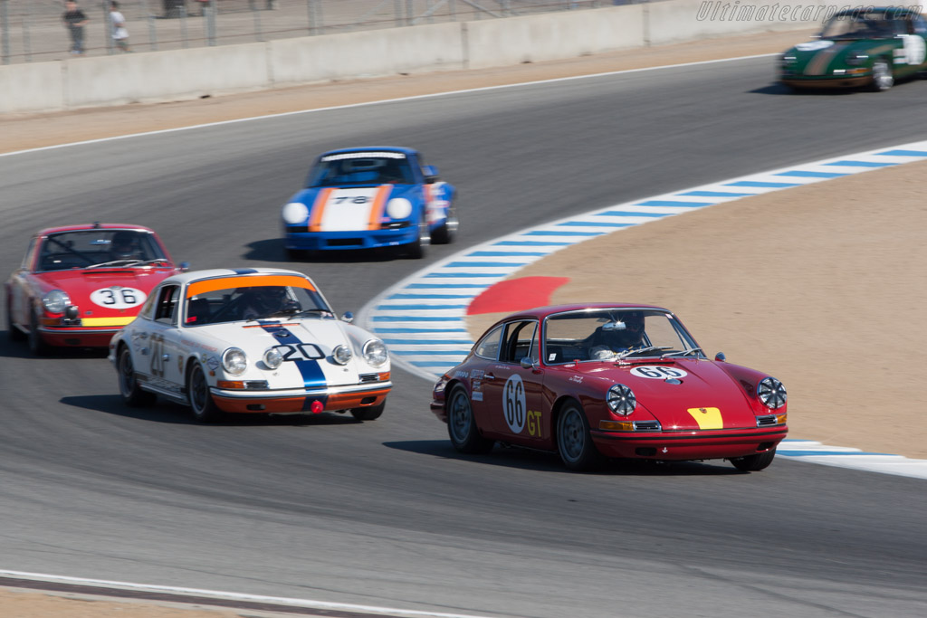Porsche 911 - Chassis: 308107 - Driver: Don Ahearn  - 2013 Monterey Motorsports Reunion
