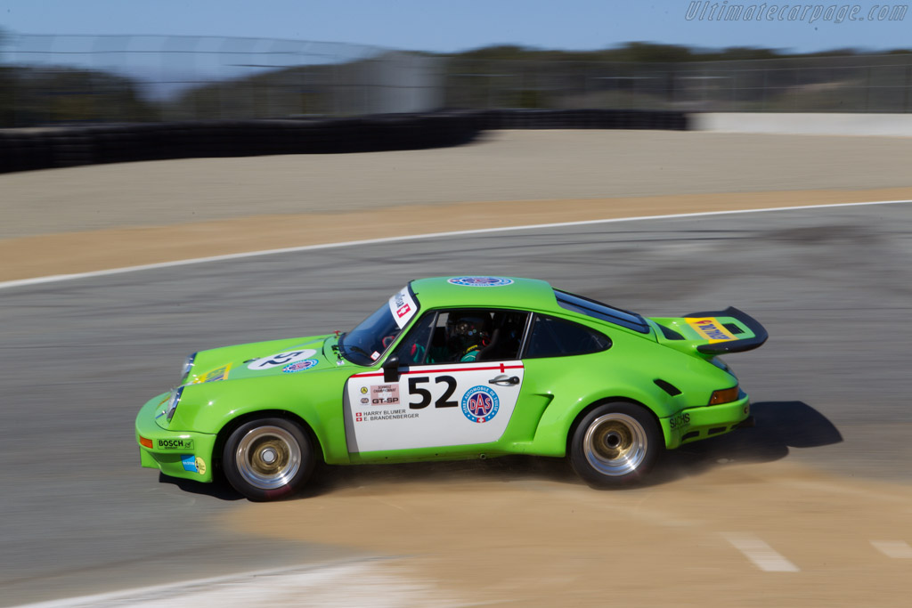 Porsche 911 Carrera RSR 3.0 - Chassis: 911 460 9053 - Driver: Bill Ockerlund  - 2013 Monterey Motorsports Reunion