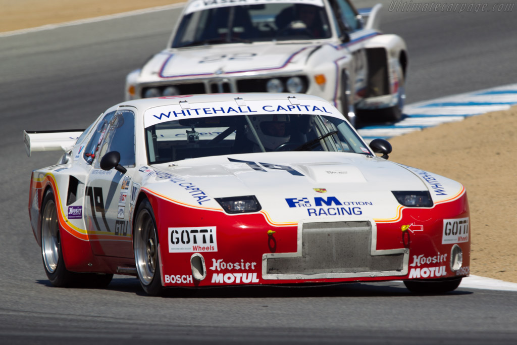 Porsche 924 GTR IMSA Group 5 - Chassis: 01/84 - Driver: Paul Singer  - 2013 Monterey Motorsports Reunion