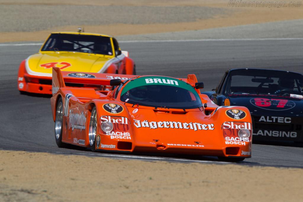 Porsche 962C - Chassis: 962-117 - Driver: Tom Haacker  - 2013 Monterey Motorsports Reunion