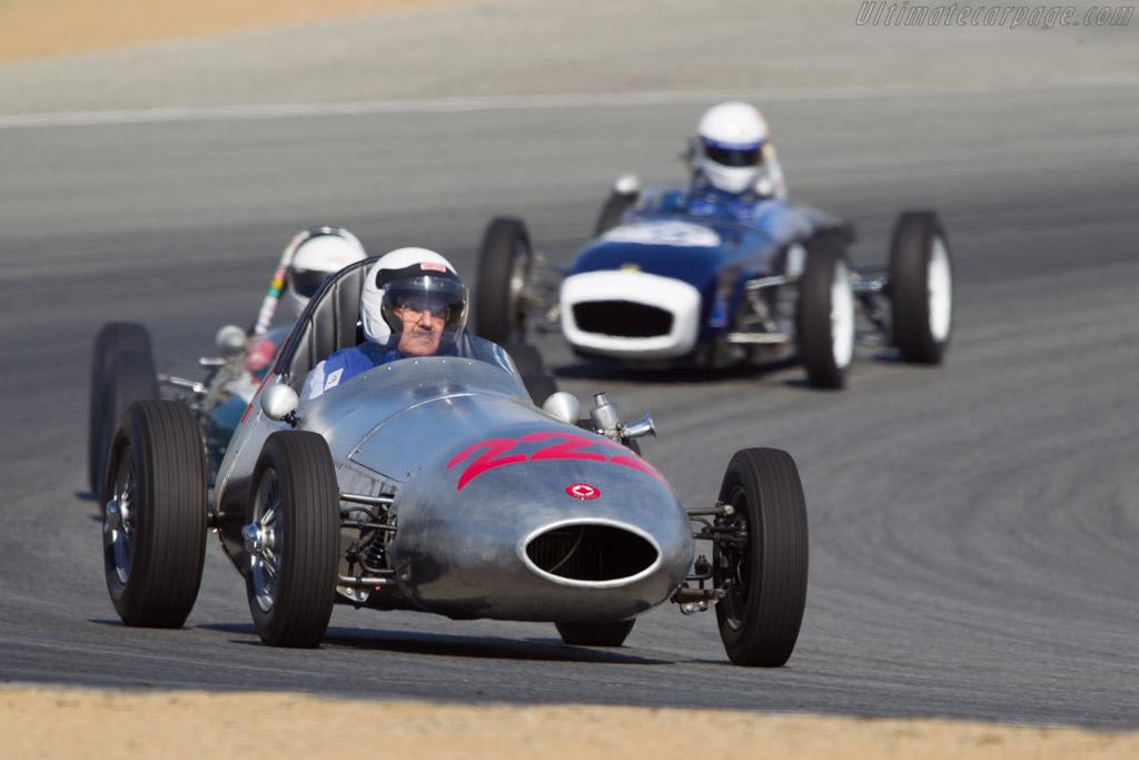 Sadler Formula Junior - Chassis: 2 - Driver: Bill Sadler  - 2013 Monterey Motorsports Reunion