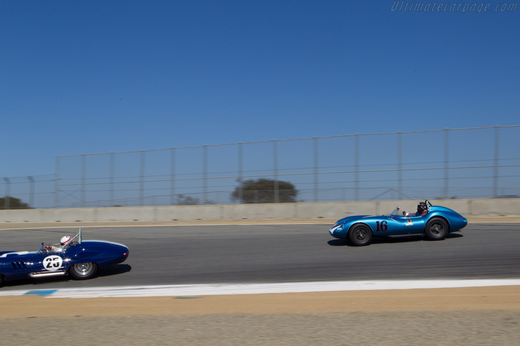 Scarab Mk1 Chevrolet - Chassis: 001 - Entrant: Rob Walton - Driver: David Swig  - 2013 Monterey Motorsports Reunion