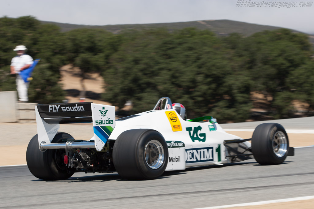 Williams FW08C Cosworth - Chassis: FW08C-7 - Driver: Keith Freiser  - 2013 Monterey Motorsports Reunion
