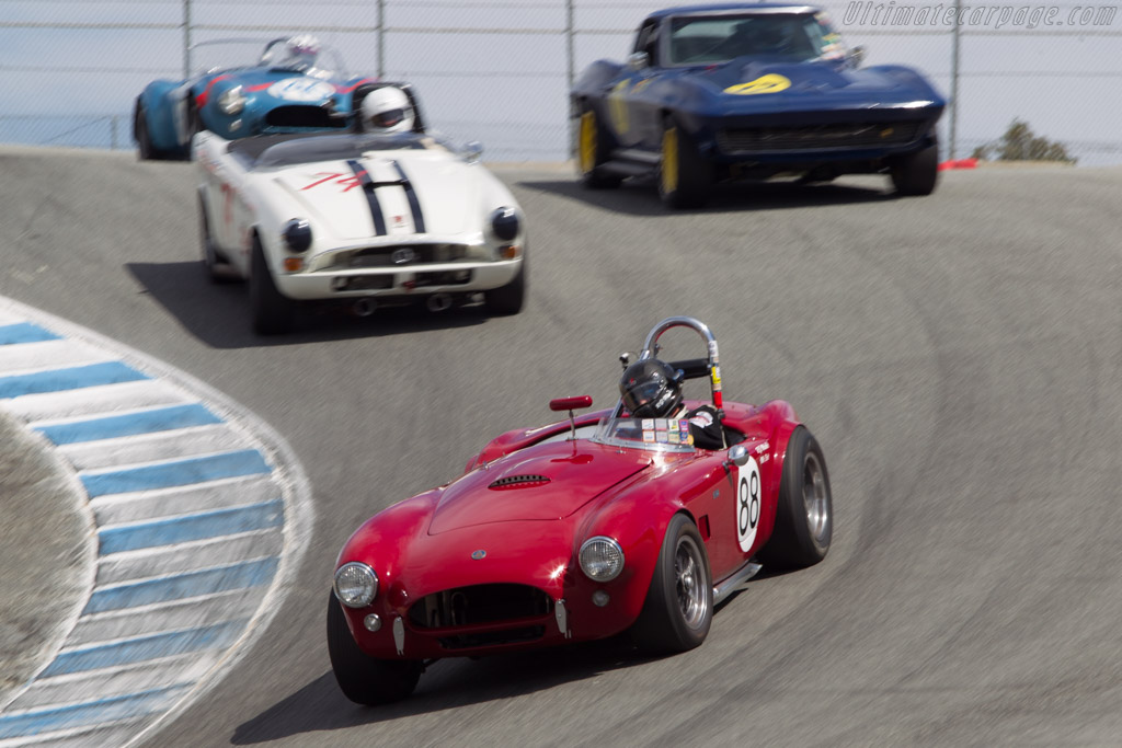 AC Shelby Cobra - Chassis: CSX2085 - Driver: Robert Mirabile  - 2014 Monterey Motorsports Reunion