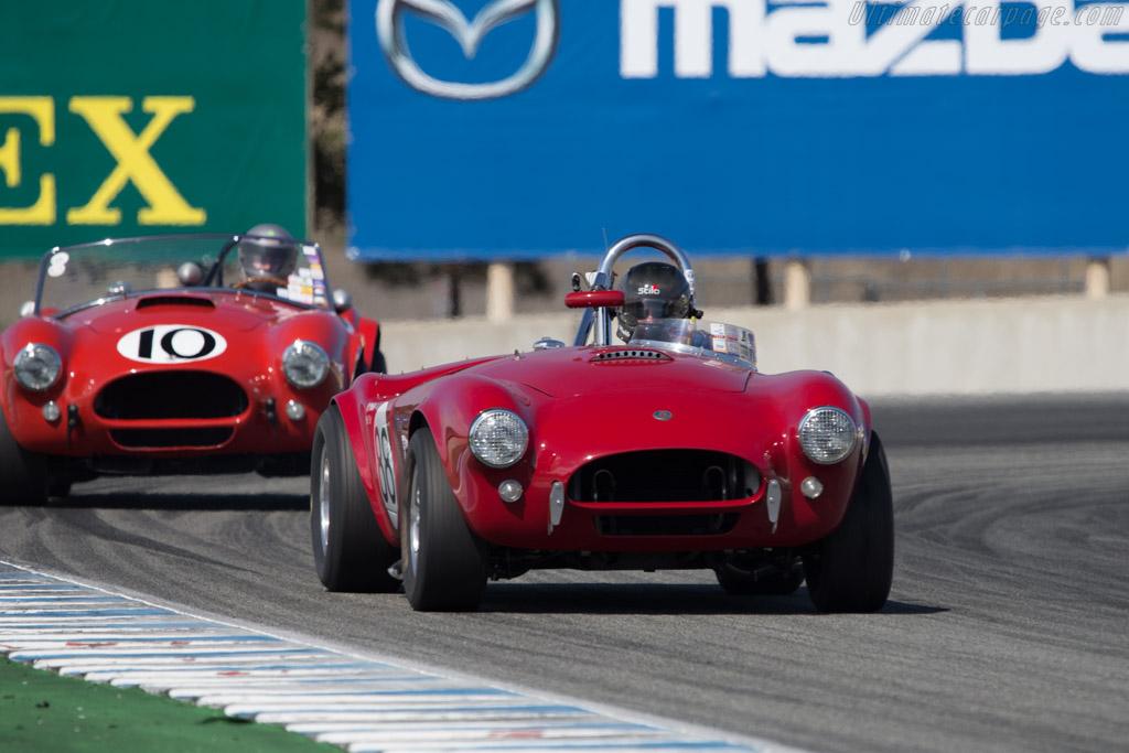 AC Shelby Cobra - Chassis: CSX2085 - Driver: RJ Mirabelle  - 2014 Monterey Motorsports Reunion