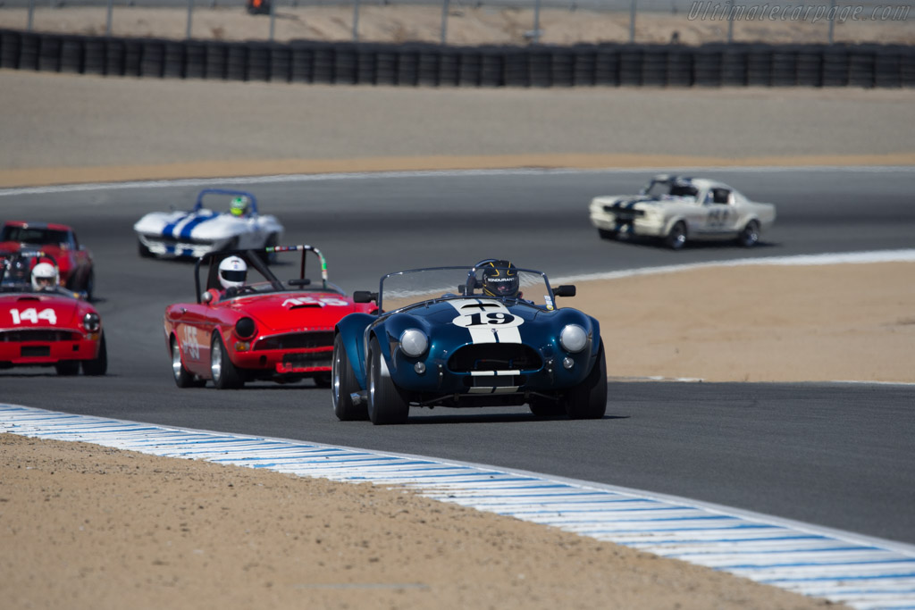AC Shelby Cobra - Chassis: CSX2326 - Driver: Jim Click  - 2014 Monterey Motorsports Reunion