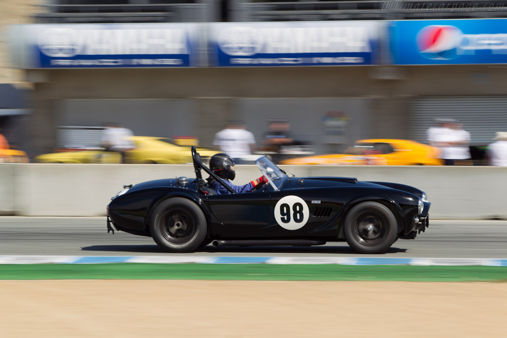 AC Shelby Cobra Le Mans - Chassis: CSX2136 - Driver: Bill Ockerlund  - 2014 Monterey Motorsports Reunion