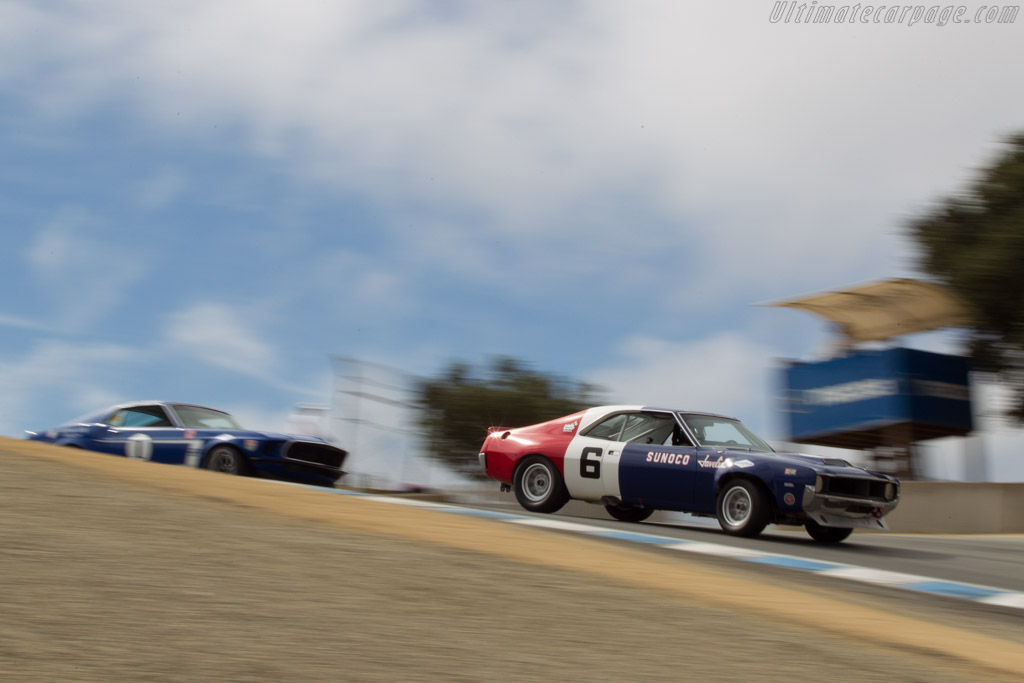 AMC Javelin - Chassis: RP70-1 - Driver: Bruce Canepa  - 2014 Monterey Motorsports Reunion