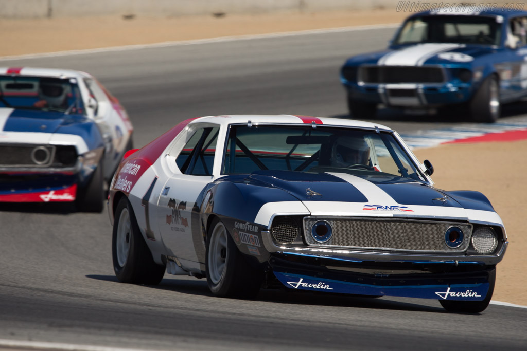 AMC Javelin - Chassis: 72AS03 - Driver: Stephen Sorensen  - 2014 Monterey Motorsports Reunion