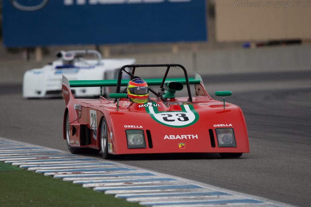 Abarth Osella Pa1 Chassis Pa1 04 Driver Zak Brown