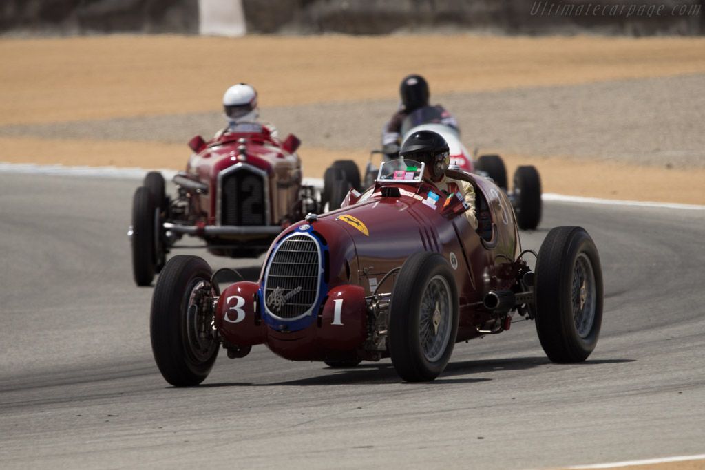 Alfa Romeo 8C 35 - Chassis: 50012 - Driver: Peter Giddings  - 2014 Monterey Motorsports Reunion