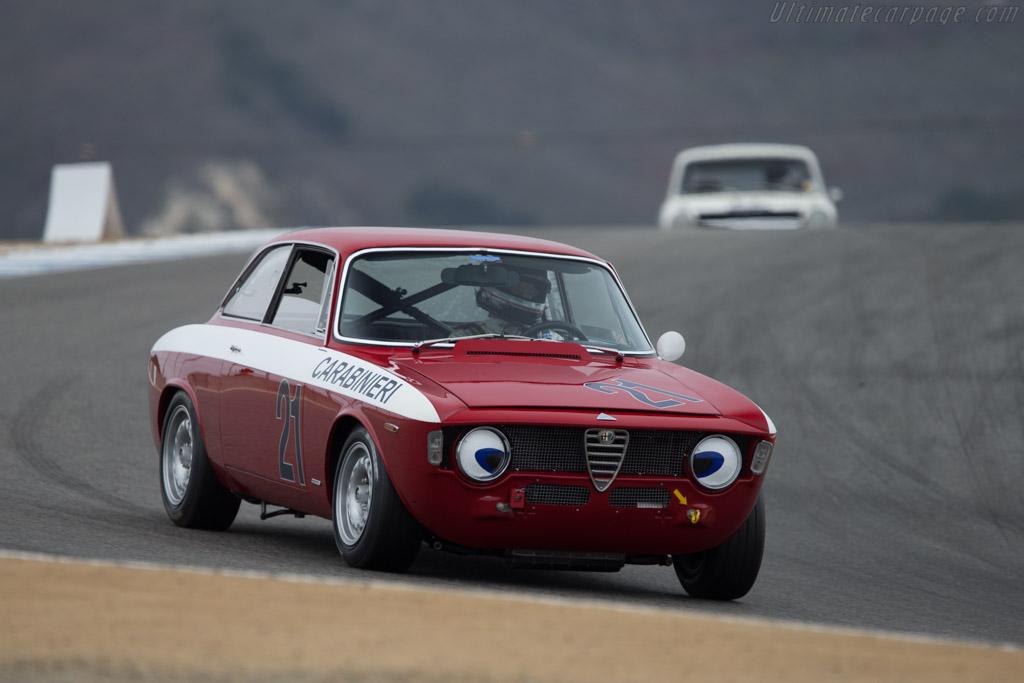 Alfa Romeo Giulia Sprint GTA - Chassis: AR613880 - Driver: Harley Cluxton  - 2014 Monterey Motorsports Reunion