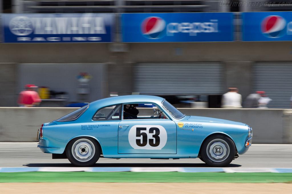 Alfa Romeo Giulietta Sprint - Chassis: AR 1493 07867 - Driver: Dan Higgins  - 2014 Monterey Motorsports Reunion