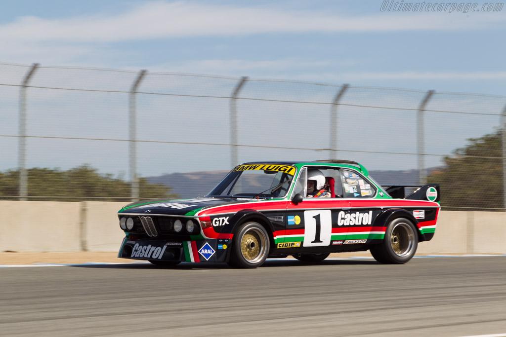 BMW 3.0 CSL Luigi - Chassis: 001 - Driver: Steve Walker  - 2014 Monterey Motorsports Reunion