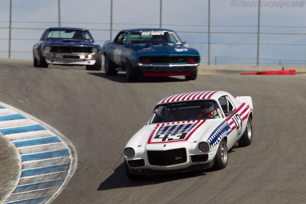 Chevrolet Camaro  - Driver: Ed Wheatley  - 2014 Monterey Motorsports Reunion