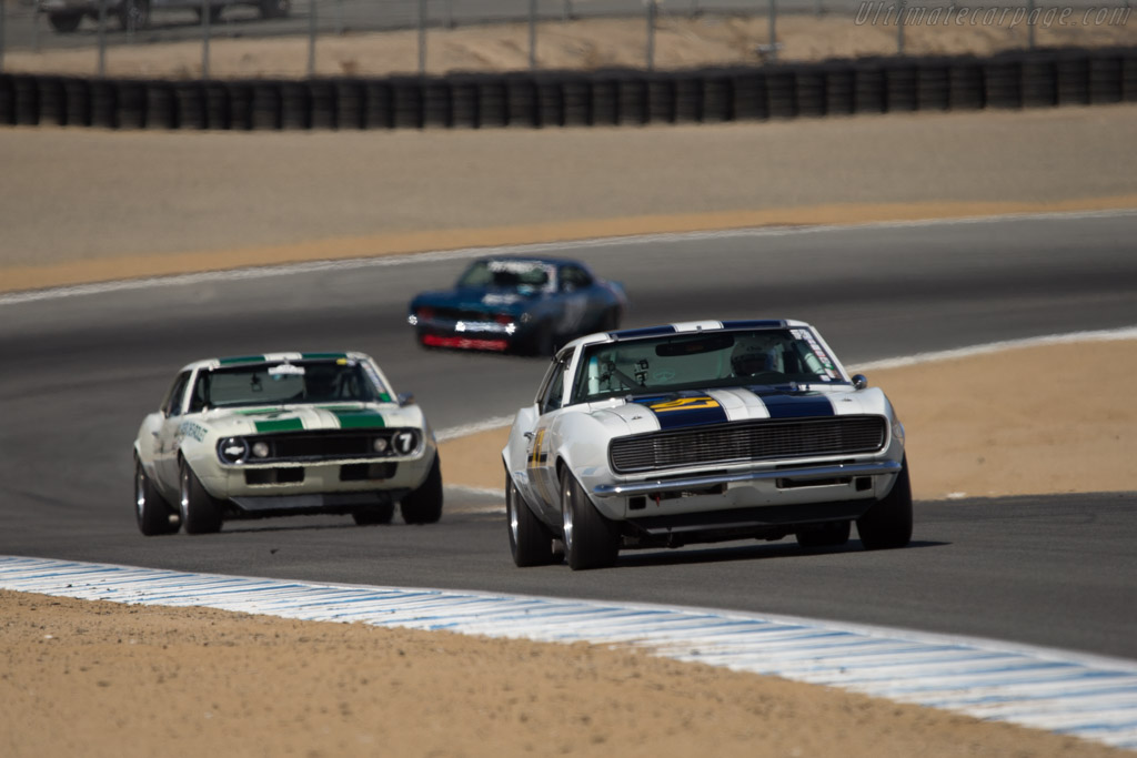 Chevrolet Camaro - Chassis: 124378L315980 - Driver: Addison Brown  - 2014 Monterey Motorsports Reunion