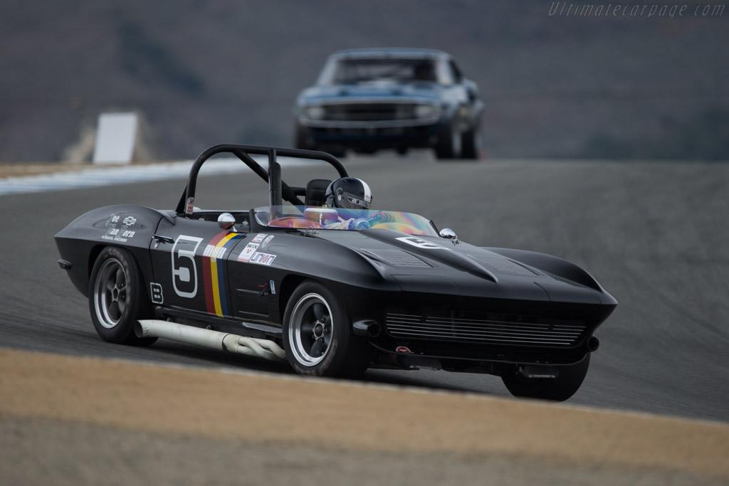 Chevrolet Corvette Roadster  - Driver: Jeffrey Abramson  - 2014 Monterey Motorsports Reunion