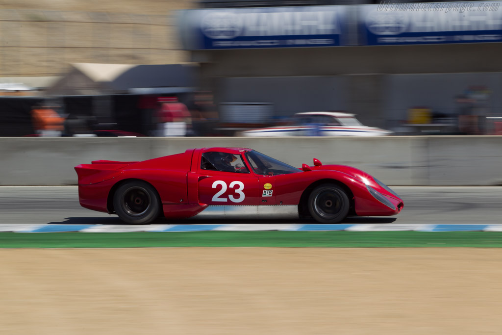 Chevron B16  - Driver: Bob Kullas  - 2014 Monterey Motorsports Reunion