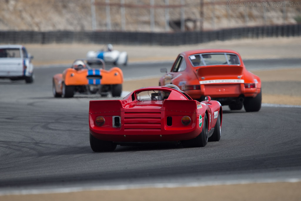 Chevron B16 - Chassis: CH-DBE-28 - Driver: Gray Gregory  - 2014 Monterey Motorsports Reunion