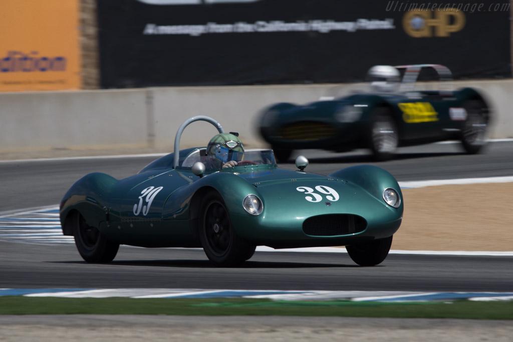 Cooper T39 Bobtail - Chassis: CSII/6/56 - Driver: Jimmy Domingos  - 2014 Monterey Motorsports Reunion