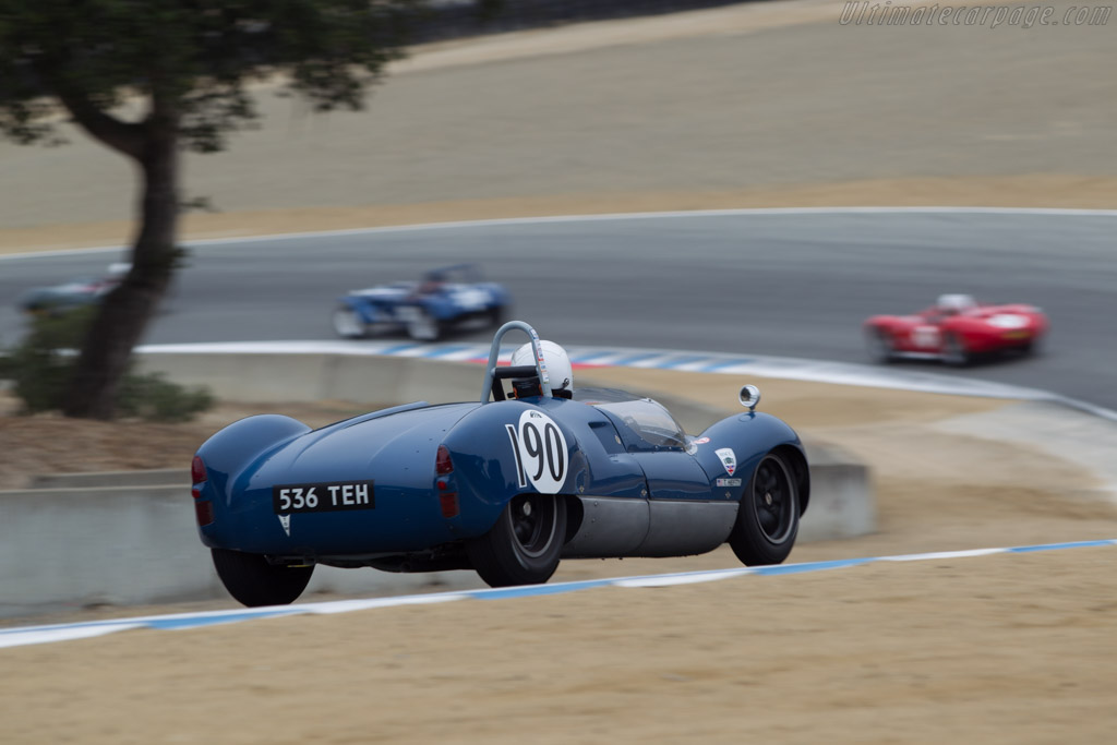 Cooper T49 Monaco - Chassis: CM/12/59 - Driver: Terry Hefty  - 2014 Monterey Motorsports Reunion