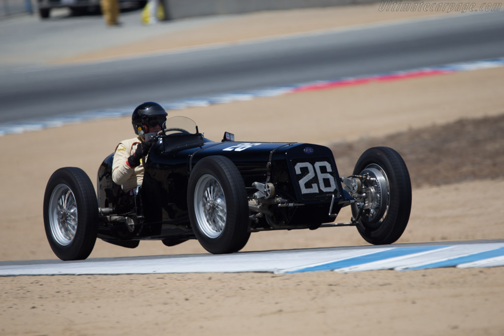 Delage 15 S8 - Chassis: 18488 - Driver: Peter Giddings  - 2014 Monterey Motorsports Reunion