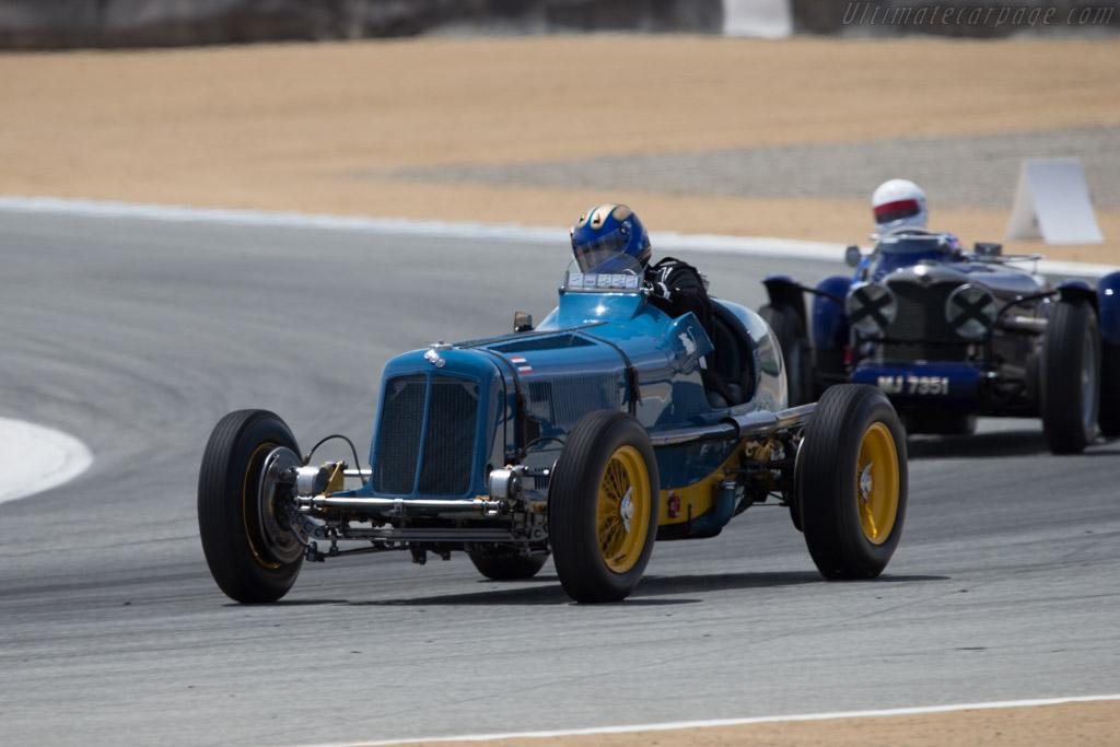 ERA R2B - Chassis: R2B - Driver: Greg Whitten  - 2014 Monterey Motorsports Reunion