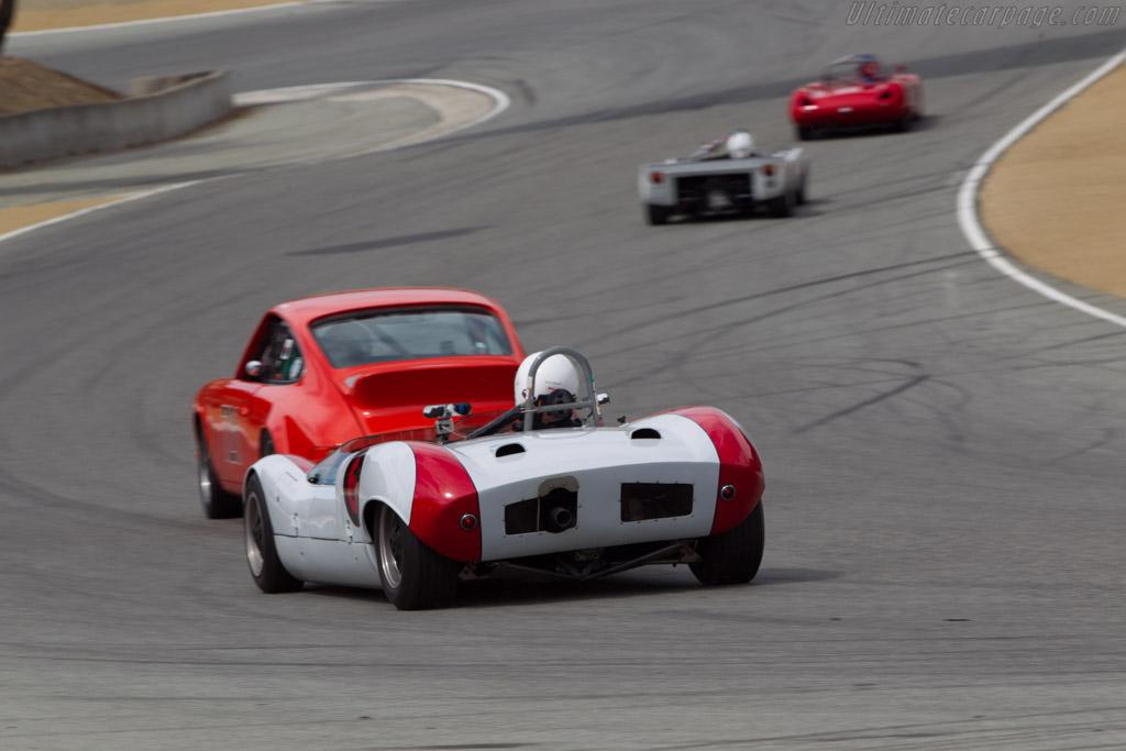 Elva Mk 7 - Chassis: 70/023 - Driver: Dave Hagan  - 2014 Monterey Motorsports Reunion