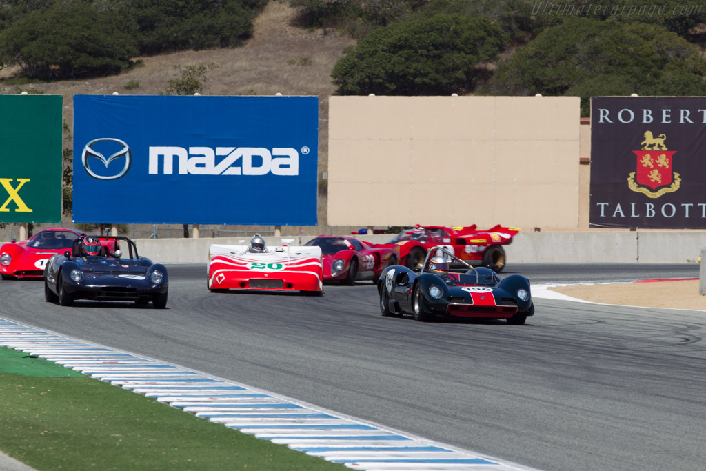 Elva Mk8 - Chassis: 80/04 - Driver: Harindra de Silva  - 2014 Monterey Motorsports Reunion