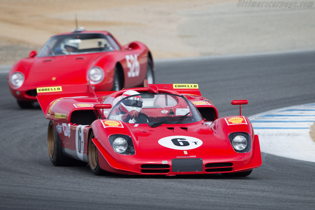 Ferrari 512 S - Chassis: 1004 - Driver: Peter Read  - 2014 Monterey Motorsports Reunion