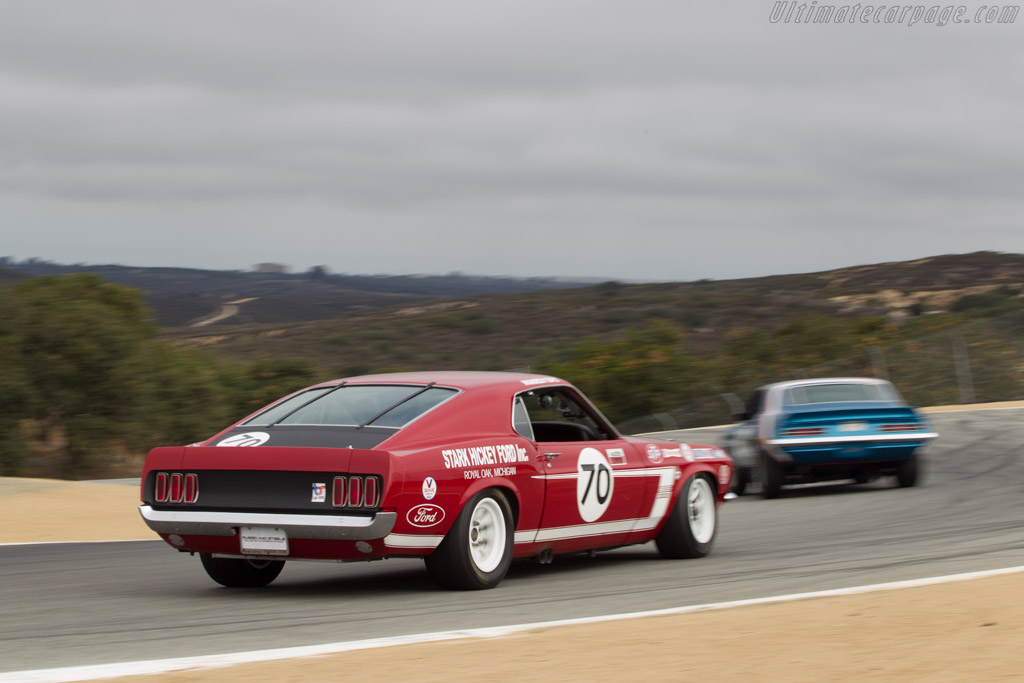 Ford Mustang Boss 302 - Chassis: RX413-4-47 - Driver: Drew Alcazar  - 2014 Monterey Motorsports Reunion