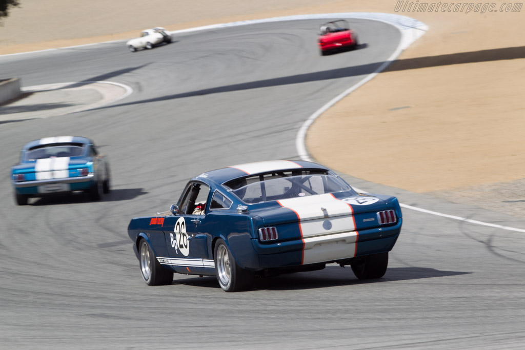 Ford Shelby Mustang GT350 - Chassis: SFM6S2192 - Driver: John Linfesty  - 2014 Monterey Motorsports Reunion