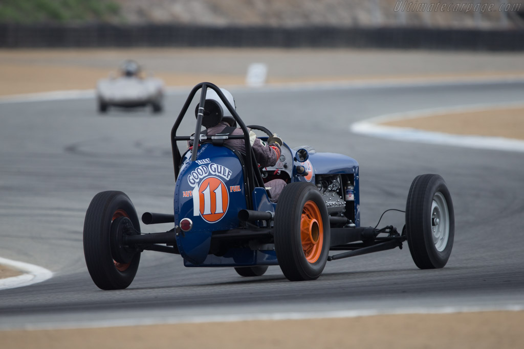 Ford Sprint Car  - Driver: Max Jamieson  - 2014 Monterey Motorsports Reunion