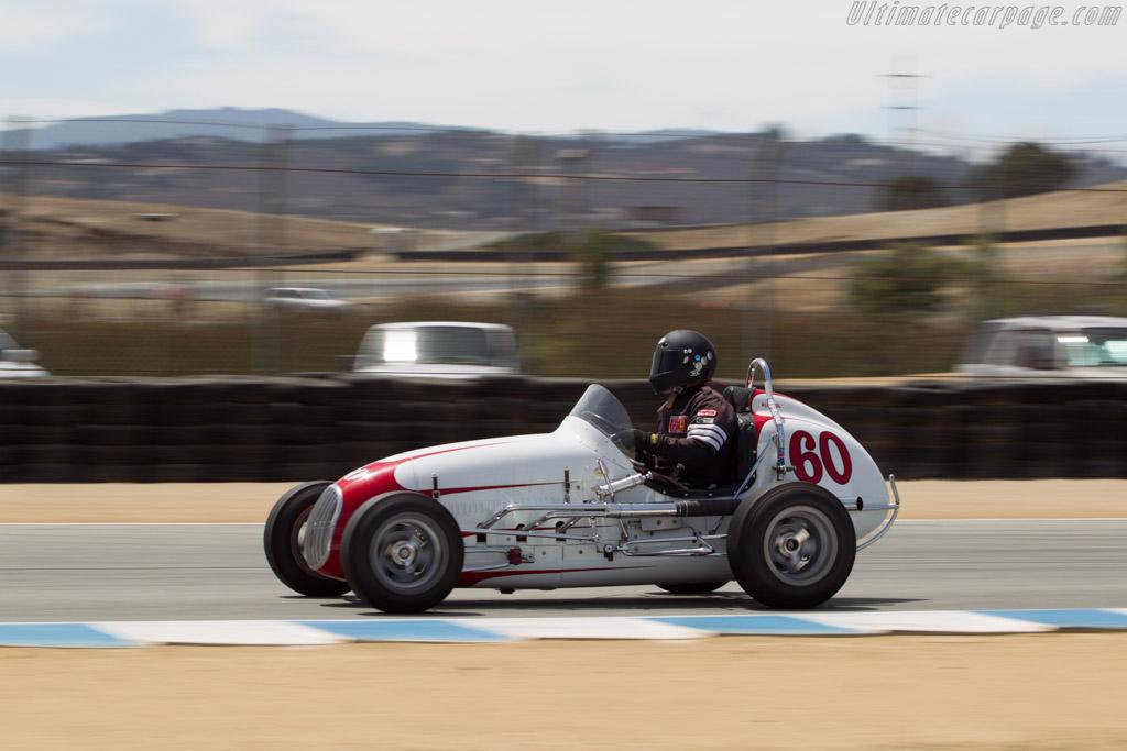Kurtis Midget - Chassis: F282-48 - Driver: Mark Sange  - 2014 Monterey Motorsports Reunion