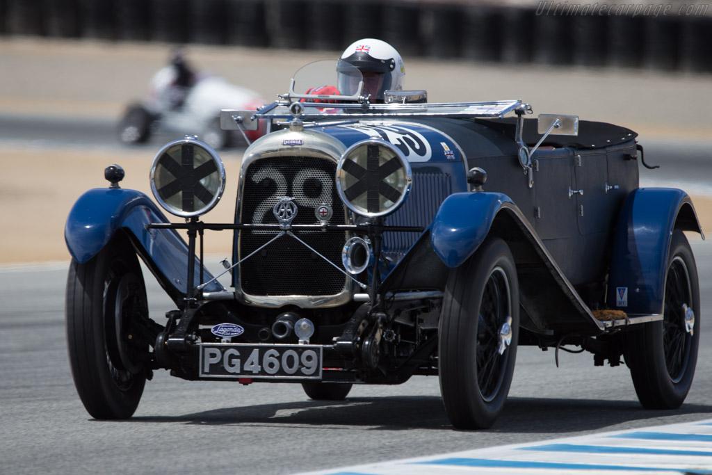 Lagonda 2-Litre Speed - Chassis: 9517 - Driver: Graham Wallis  - 2014 Monterey Motorsports Reunion