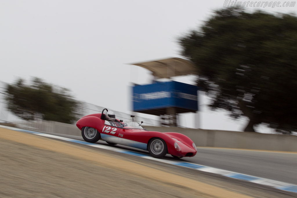 Lola Mk1 Climax - Chassis: BR1659 - Driver: Dale Bloomquist  - 2014 Monterey Motorsports Reunion