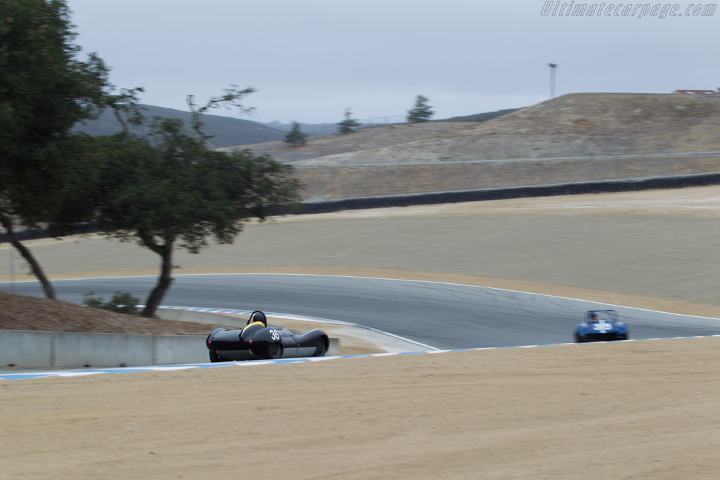 Lola Mk1 Climax - Chassis: BR16 - Driver: Brian Orosco  - 2014 Monterey Motorsports Reunion