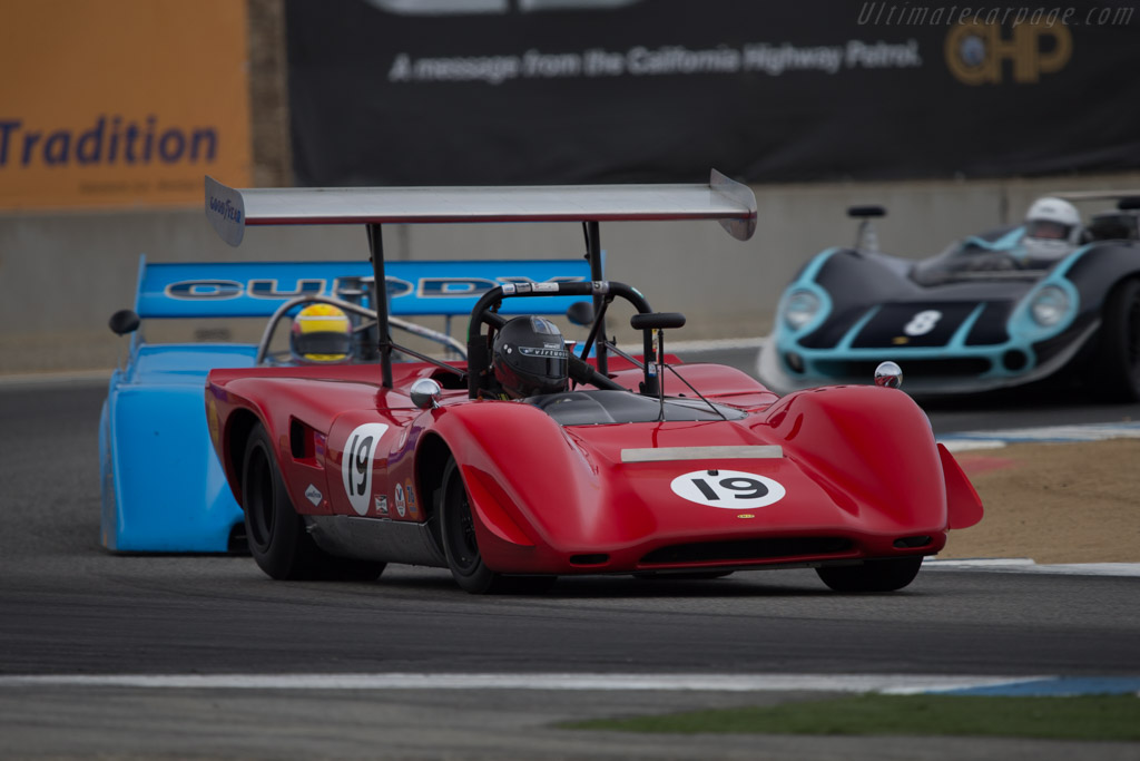 Lola T163 Chevrolet - Chassis: SL163/19 - Driver: Greg Mitchell  - 2014 Monterey Motorsports Reunion