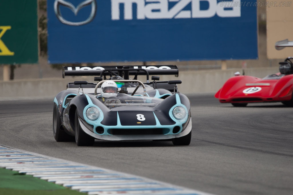 Lola T70 Mk1 Chevrolet - Chassis: SL70/10 - Driver: Bryon Defoor  - 2014 Monterey Motorsports Reunion