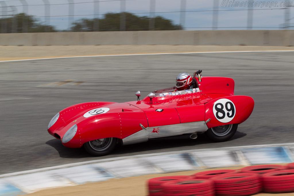 Lotus 11 - Chassis: 259 - Driver: John Hurabiell  - 2014 Monterey Motorsports Reunion