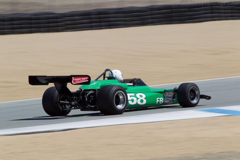 Lotus 69  - Driver: Jon Norman  - 2014 Monterey Motorsports Reunion