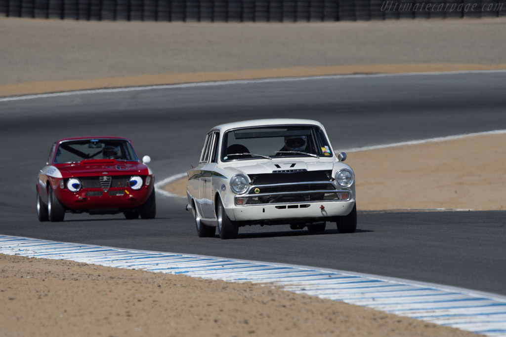 Lotus Cortina - Chassis: 74GBA74ED59971 - Driver: Steven Lawrence  - 2014 Monterey Motorsports Reunion