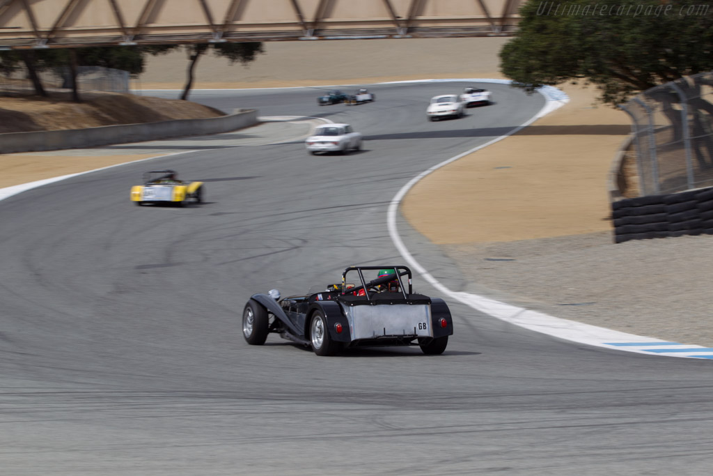 Lotus Seven - Chassis: SB2000 - Driver: Michael Taradesh - 2014 Monterey Motorsports Reunion
