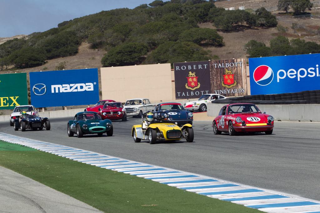 Lotus Super Seven S2 - Chassis: U1172 - Driver: Doug Warneke  - 2014 Monterey Motorsports Reunion