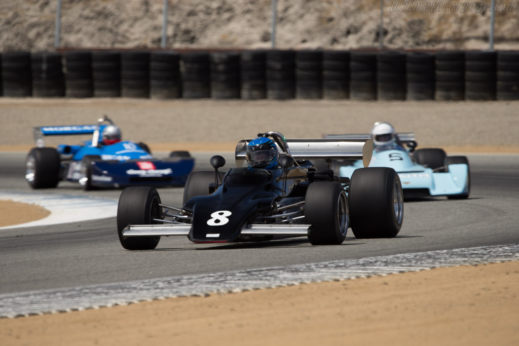 March 722 - Chassis: 722-16 - Driver: David Alvarado  - 2014 Monterey Motorsports Reunion