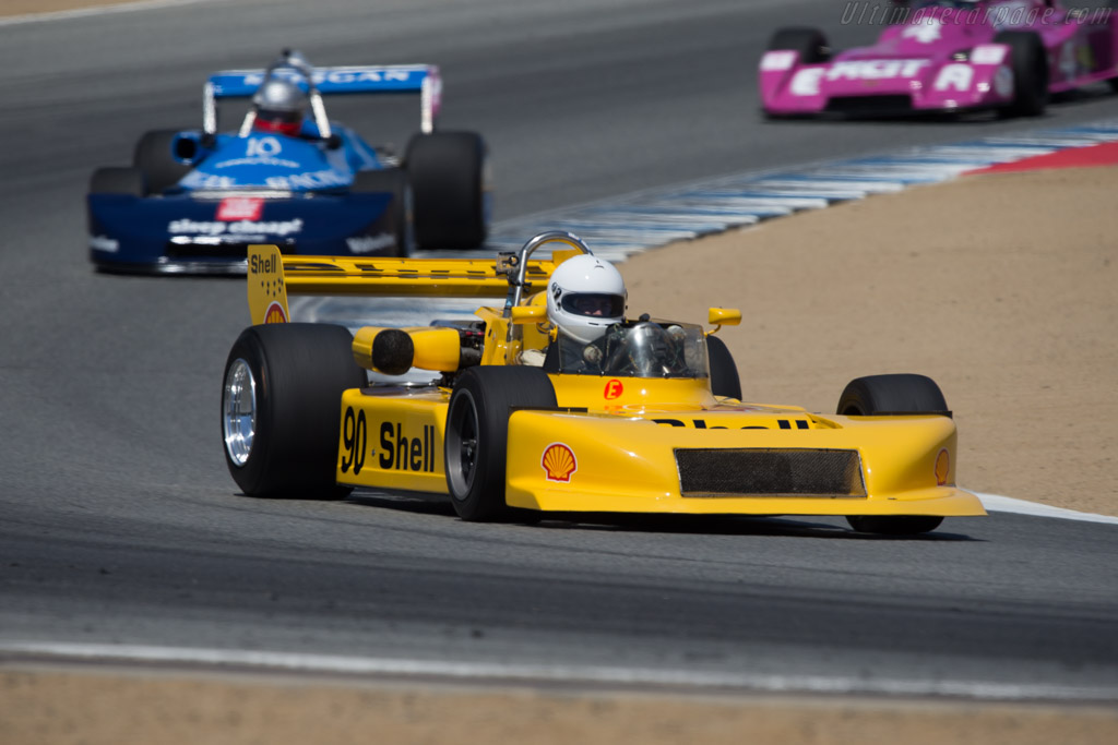 March 79B - Chassis: 10 - Driver: Patrick Orosco  - 2014 Monterey Motorsports Reunion
