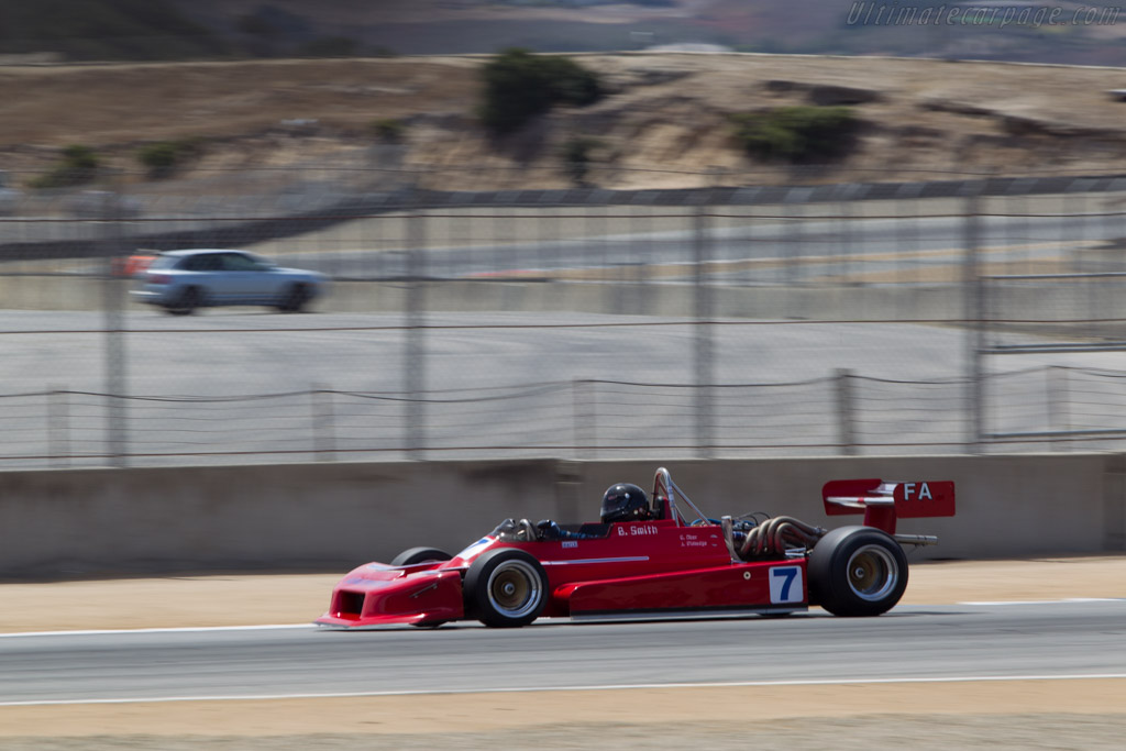March 80A - Chassis: 80A-7 - Driver: Brent Smith  - 2014 Monterey Motorsports Reunion