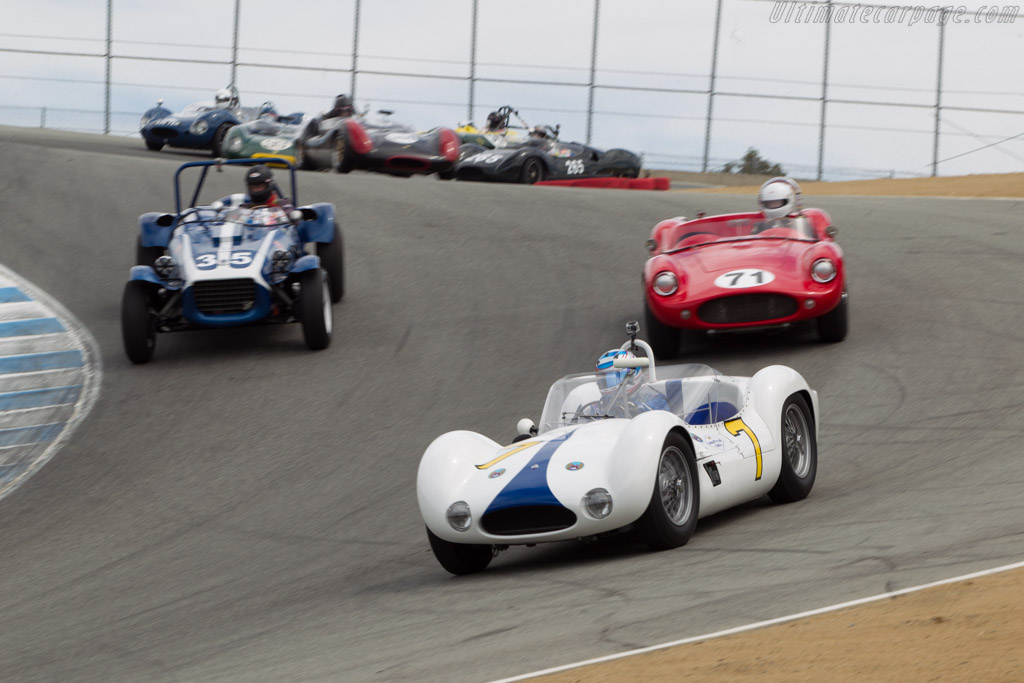 Maserati Tipo 61 - Chassis: 2458 - Driver: Jonathan Feiber  - 2014 Monterey Motorsports Reunion